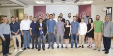 Winners and finalists at the Awards Ceremony of the 4th Annual «John and Mary Pappajohn Business Plan Competition».