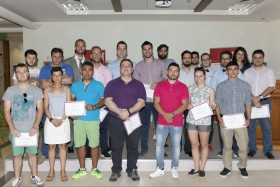 The winners and finalists of the 3rd Business Plan Competition «John & Mary Pappajohn Business Plan Awards» of ACT - American College of Thessaloniki.