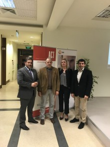 Theo Lizardos, Chief Sales support 3K, Investment Partners, George Anastasiadis, Instructor, Anatolia School of Business, ACT, Eleni Tsiana, Unit manager, NN Hellas, Dr. Nikos Hourvouliades, Chair, Anatolia School of Business.